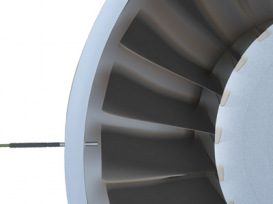 Radial installation: measurement in turbines