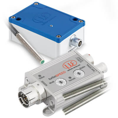 Rotational speed sensors for industrial measurement tasks