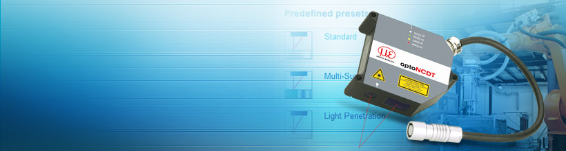 High-speed application solutions due to predefined presets